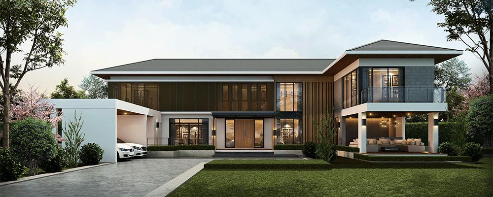"""5 เหตุผลที่ทำให้บริษัท """"รับสร้างบ้านหรู"""" นั้นเป็นมากกว่าบริษัททั่วไป"""